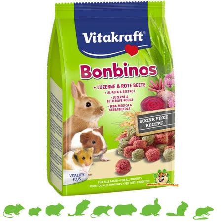 Vitakraft Bonbinos Lucerne & Beetroot
