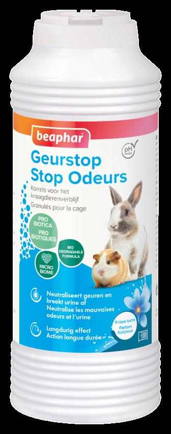 Beaphar Odor stop Rodent 600 gram permanent fresh rodent stay