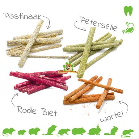 Ham-Stake Haselnuss-Nagen-Sticks