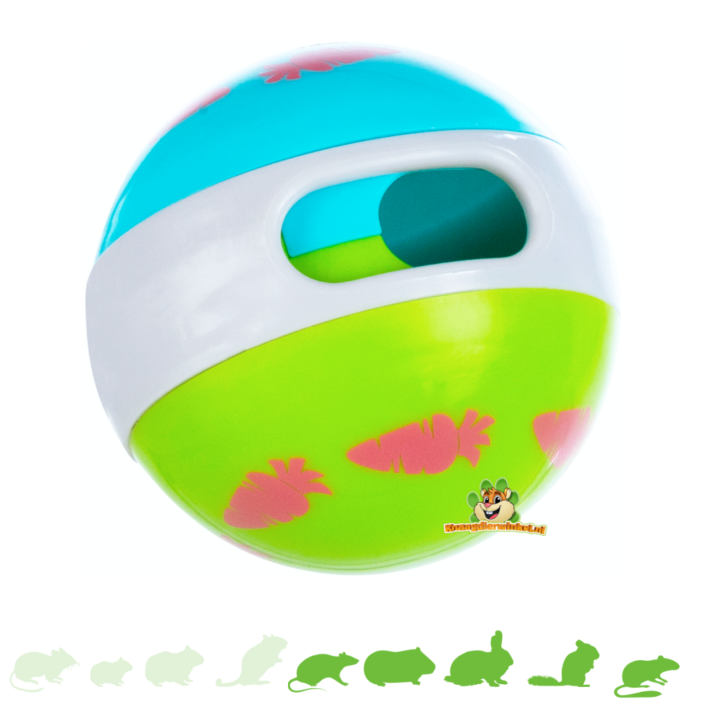 Trixie Snack ball Green / Blue 6 cm