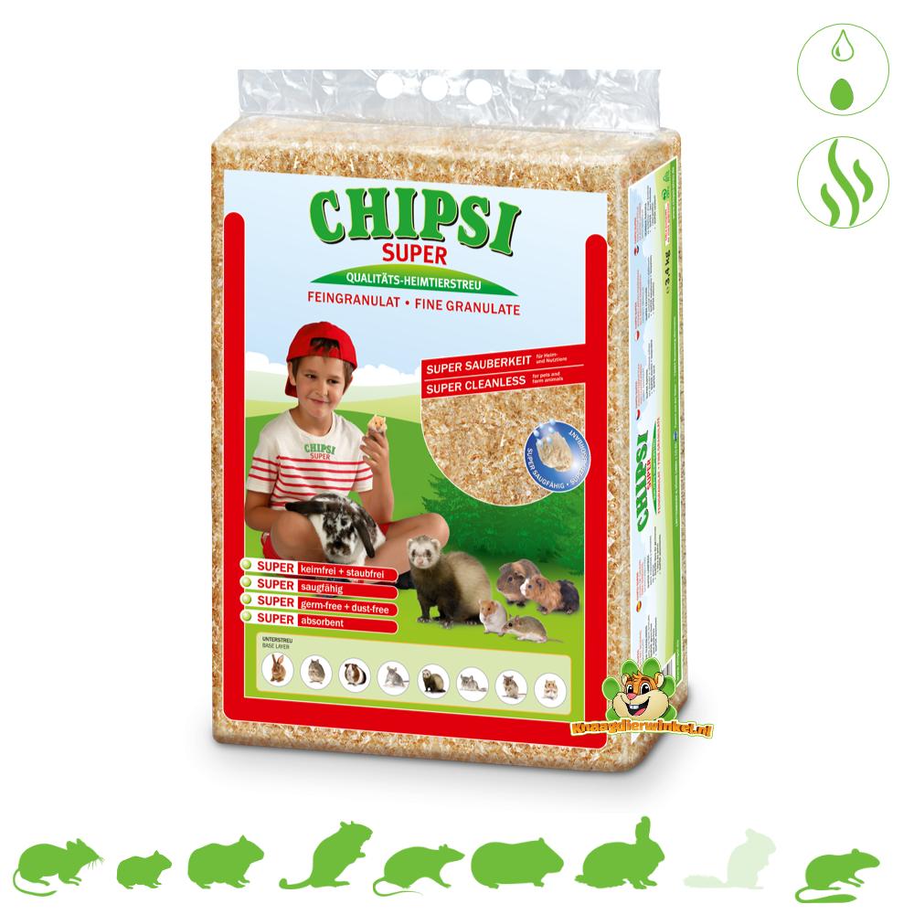 Chipsi Super Houtvezel Granulaat