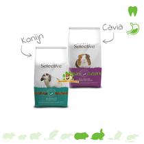 Kostenlose Probepackung Selektives Kaninchenfutter oder Meerschweinchenfutter 70 Gramm