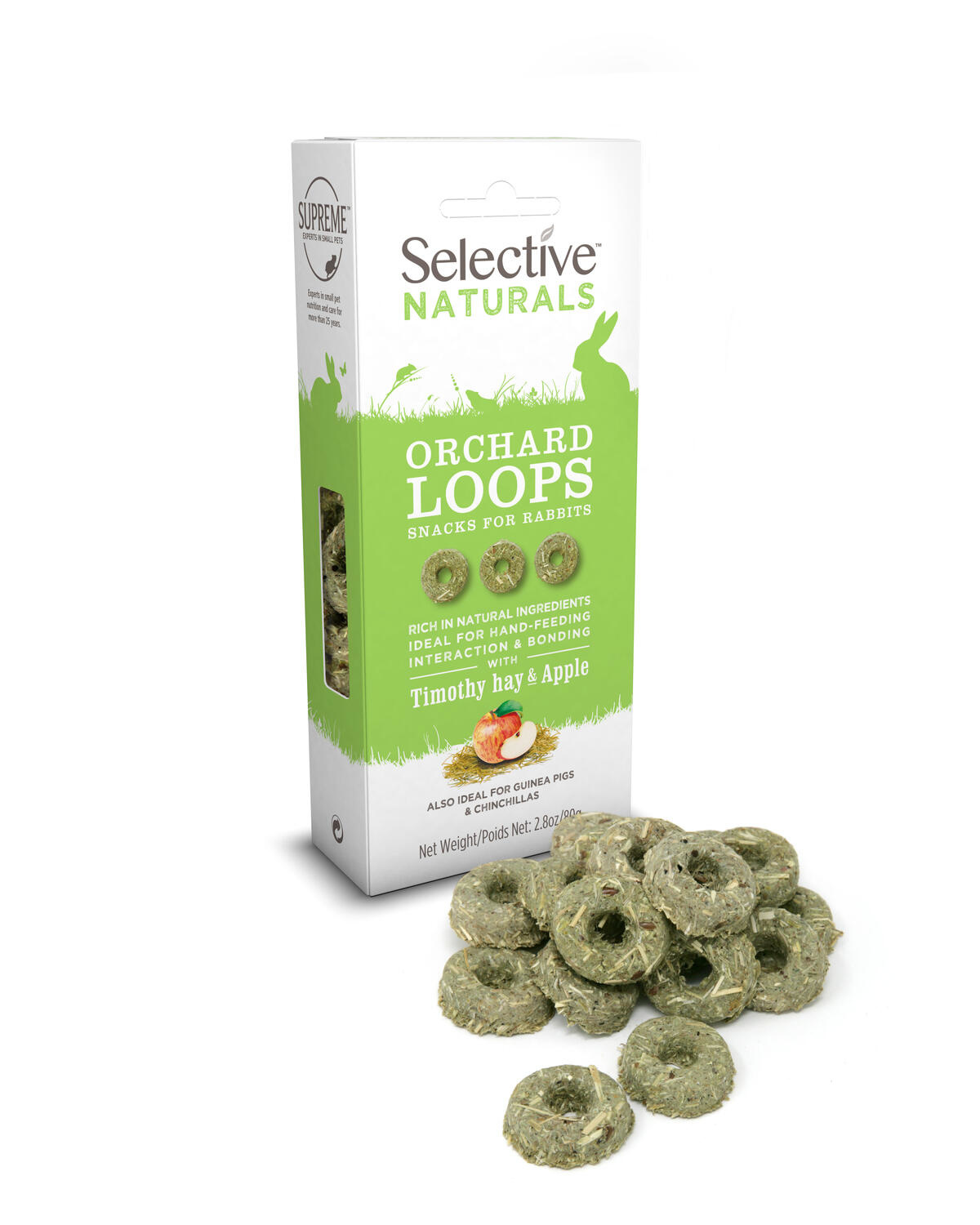 Supreme Selective Naturals Orchard Loops mit Timothy & Apple