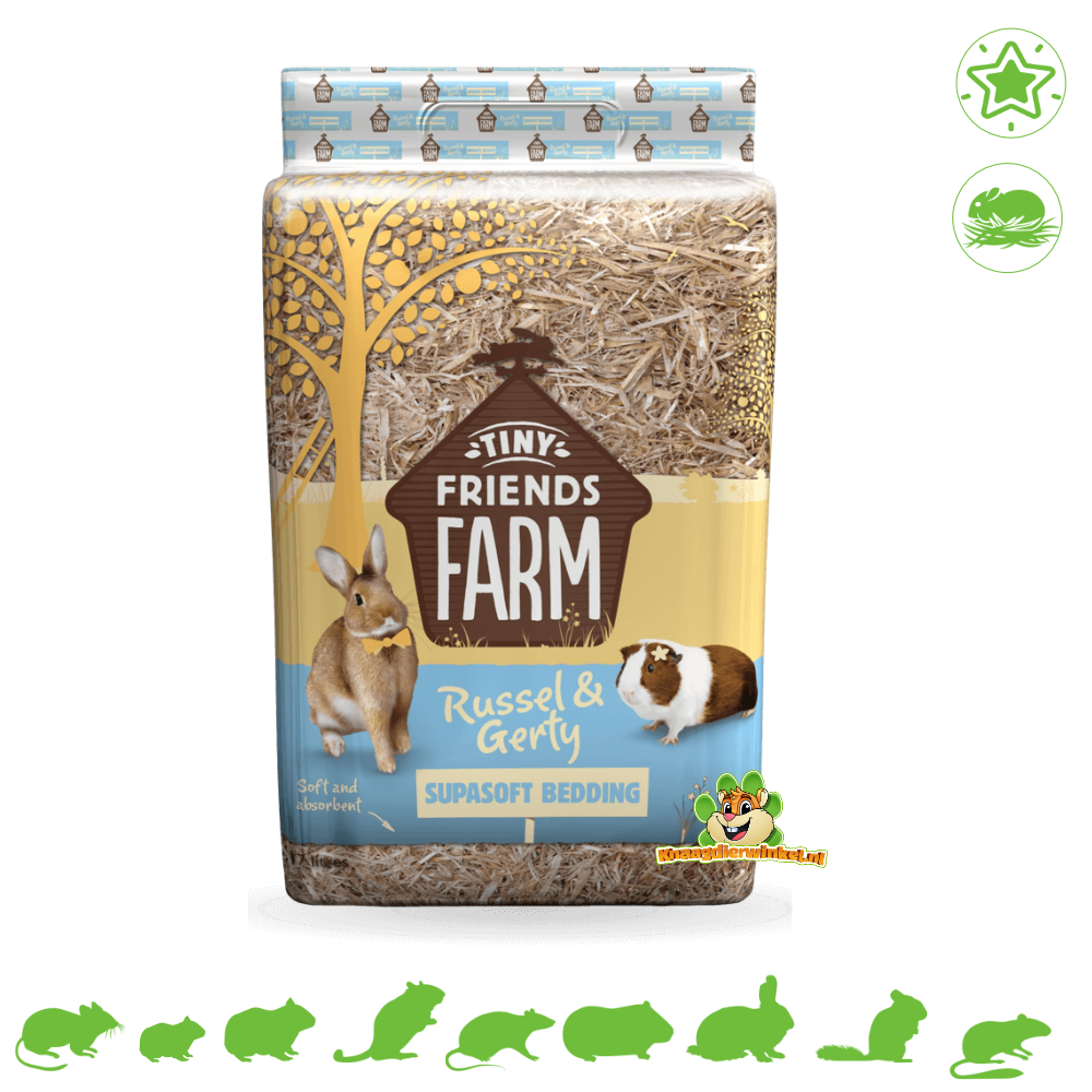 Supreme Russel & Gerty Supasoft Barley straw Soil cover 17 liters