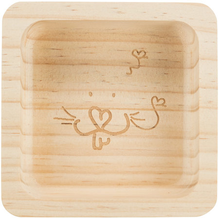 Trixie Wooden food bowl
