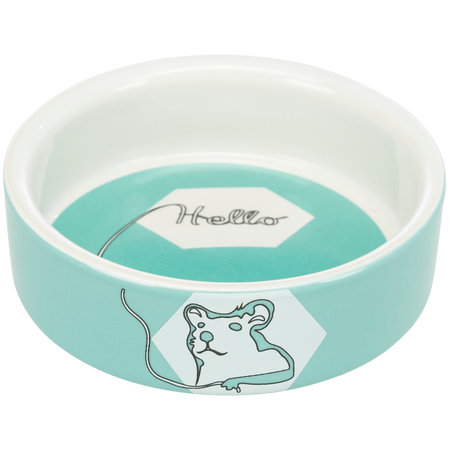 Trixie Ceramic Food / Water Bowl Color Hamster