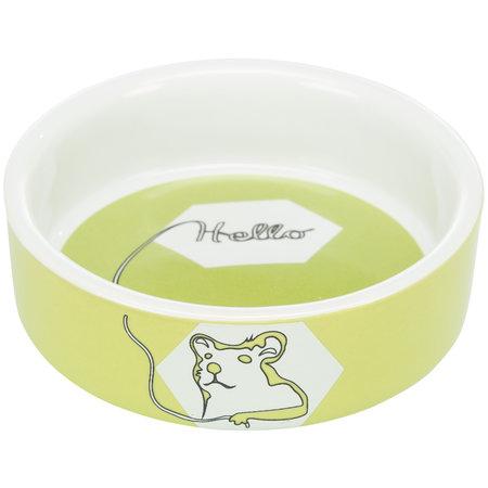 Trixie Keramische Voer/Waterbak Color Hamster