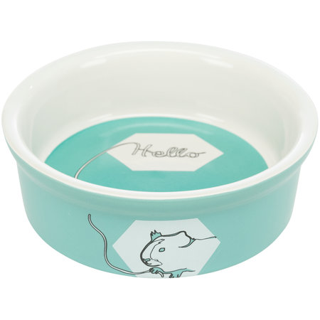Trixie Ceramic Food / Water Bowl Color Cavia