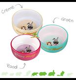 Trixie Honey & Hopper Ceramic Food/Water Bowl