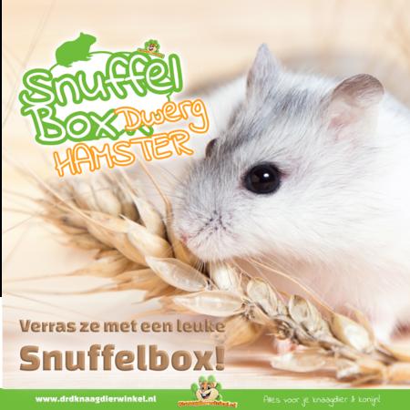 Knaagdierwinkel® Snuffelbox Dwarf Hamster # 04