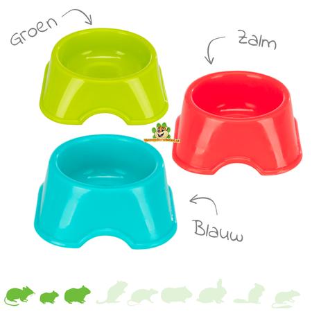Trixie Plastic Mini Food Bowl 6 cm