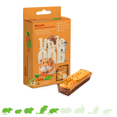 Mealberry Little One Biscuits Carrot & Spinach