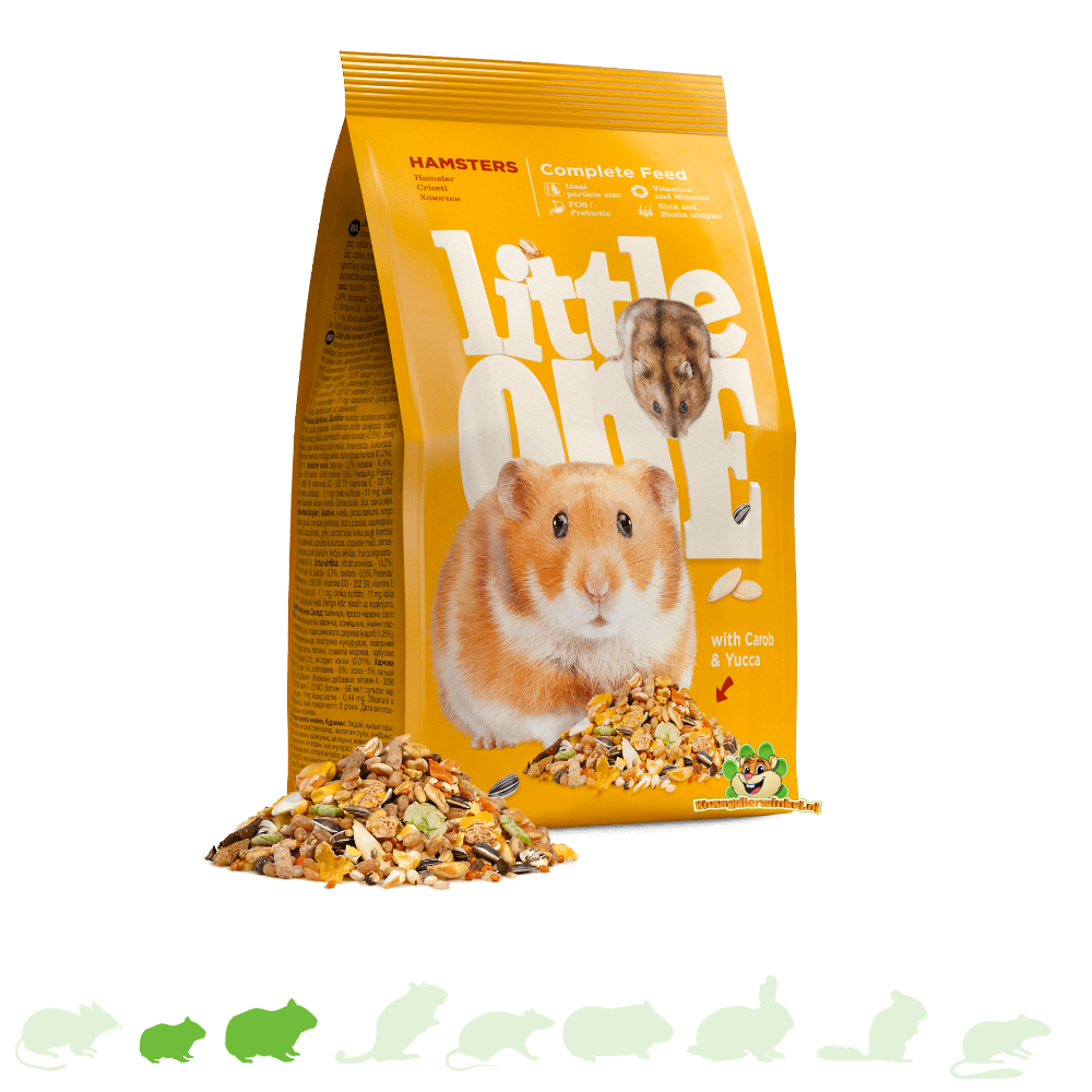 Mealberry Little One Food for Hamsters & Dwarf Hamsters 900 grams