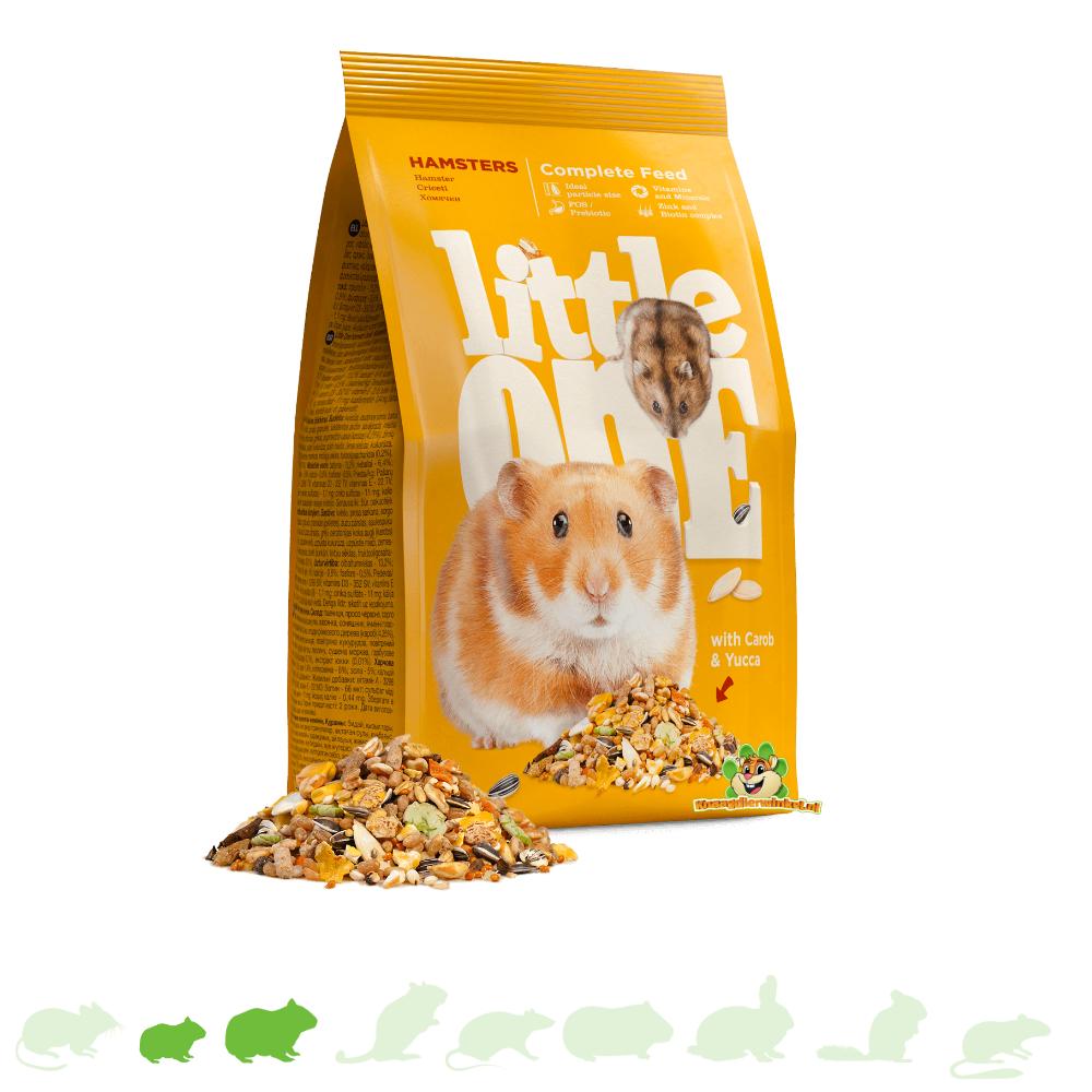 Mealberry Little One Futter für Hamster & Zwerghamster 900 Gramm