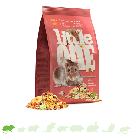 Mealberry Little One Food for Mice 400 grams