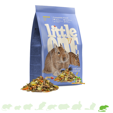Mealberry Little One Food for Degus 400 grams