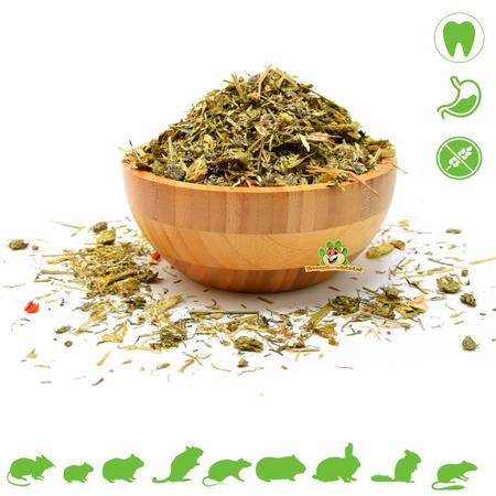 Knaagdierwinkel® 60 soorten Weidekruiden Mix 500 gram