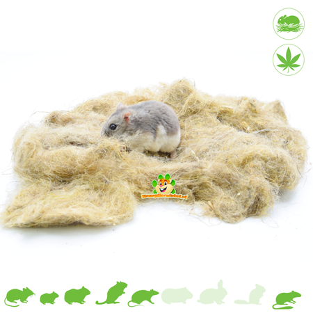 Hempflax Hanf Nest Material 50 Gramm