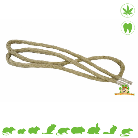 Elmato Hemp Nibble Rope 95 cm