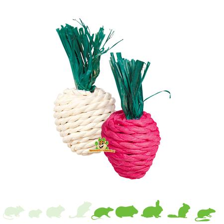 Trixie Straw Toys Radishes 8 cm