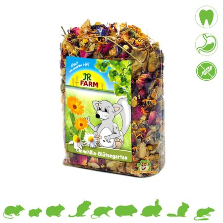 JR Farm Chinchilla Bloementuin 50 gram