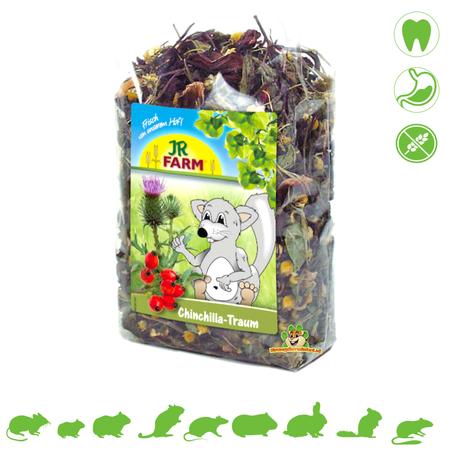 JR Farm Chinchilla Droom 75 gram