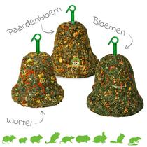 JR Farm Kruiden, Bloemen & Wortel Hooi Bel 125 gram