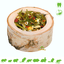 Wooden Spice Jar 120 grams