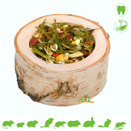 JR Farm Gewürzdose aus Holz 120 Gramm