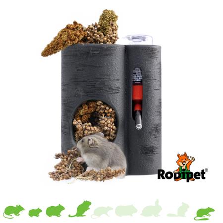 Rodipet EasyClean Trinkflaschenhalter Set mit Trinkflasche