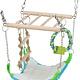 Trixie Hängebrücke mit Hängematte 22 cm