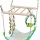 Trixie Suspension bridge with hammock 22 cm