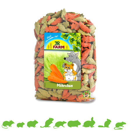JR Farm Carrots 200 grams
