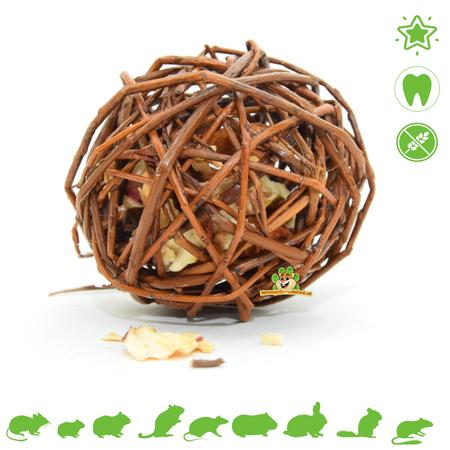 JR Farm Meadow Willow Ball Apple 8 cm