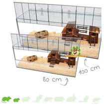 Knaagdier Terrarium met tralies
