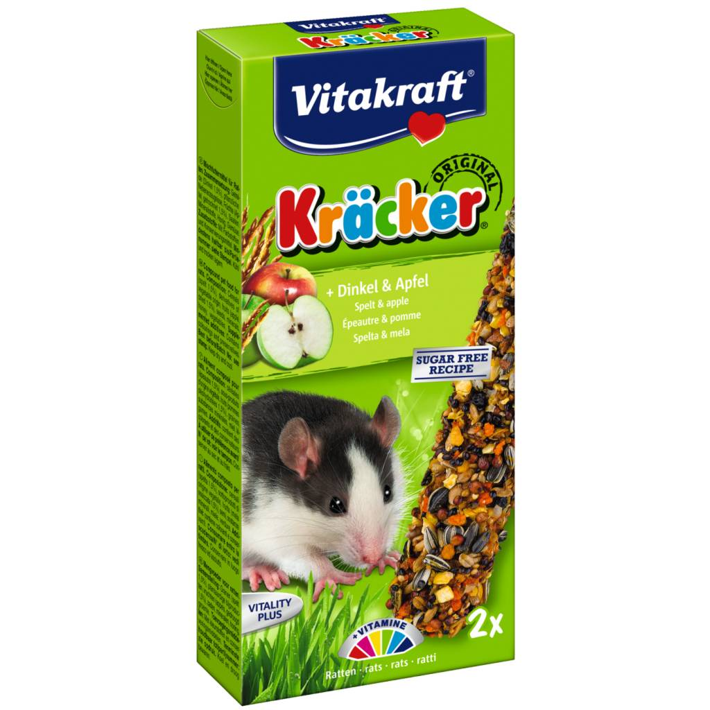Vitakraft Rat Kracker Spelled & Apple