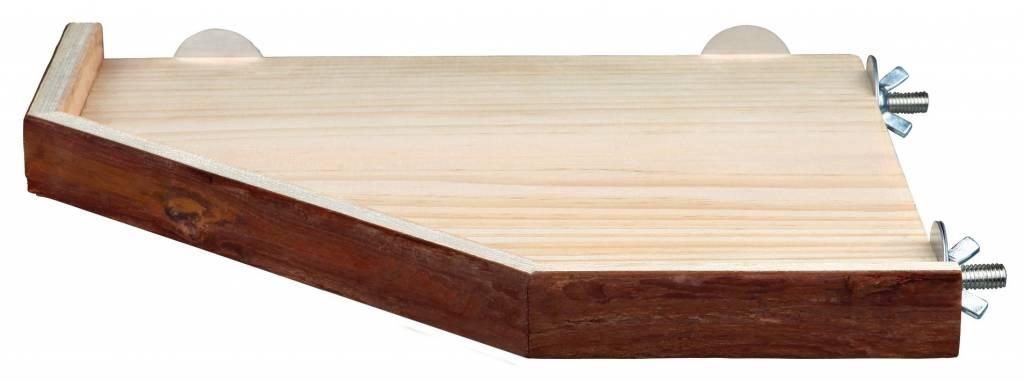 Trixie Houten Plateau met rand 17 cm