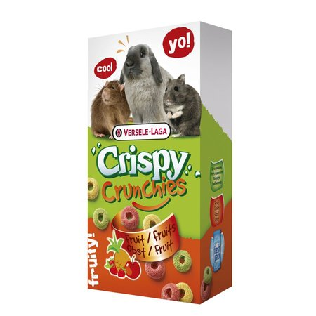Versele-Laga Knusprige Crunchies Obst 75 Gramm