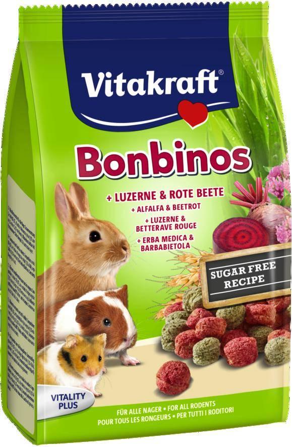 Vitakraft Bonbinos Lucerne & Red beet