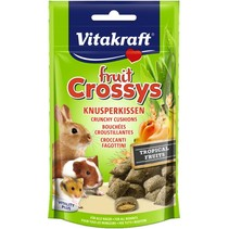 Fruit Crossys Tropical Banaan Abrikoos knaagdier