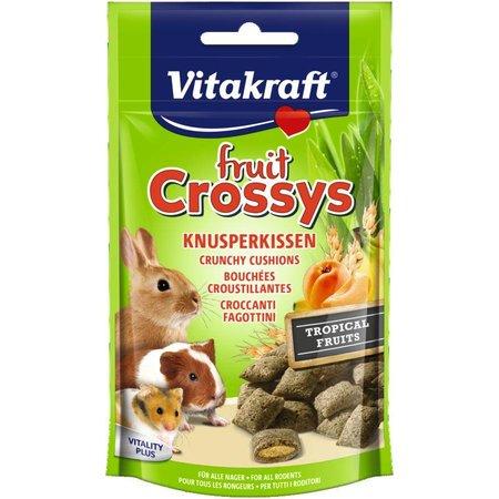 Vitakraft Fruit Crossys Tropical Banaan Abrikoos