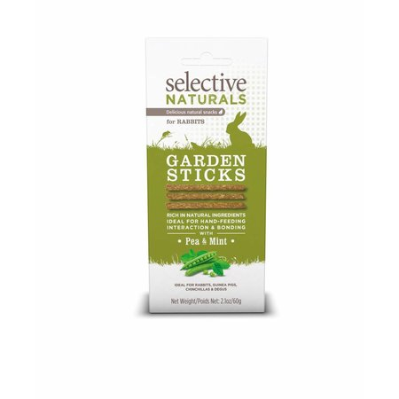 Supreme Selective Naturals Garden Sticks Rabbit 60 grams