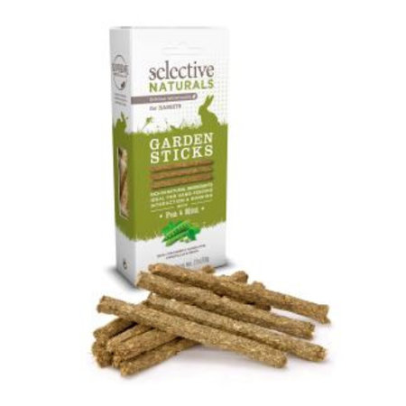 Supreme Selective Naturals Garden Sticks Konijn 60 gram