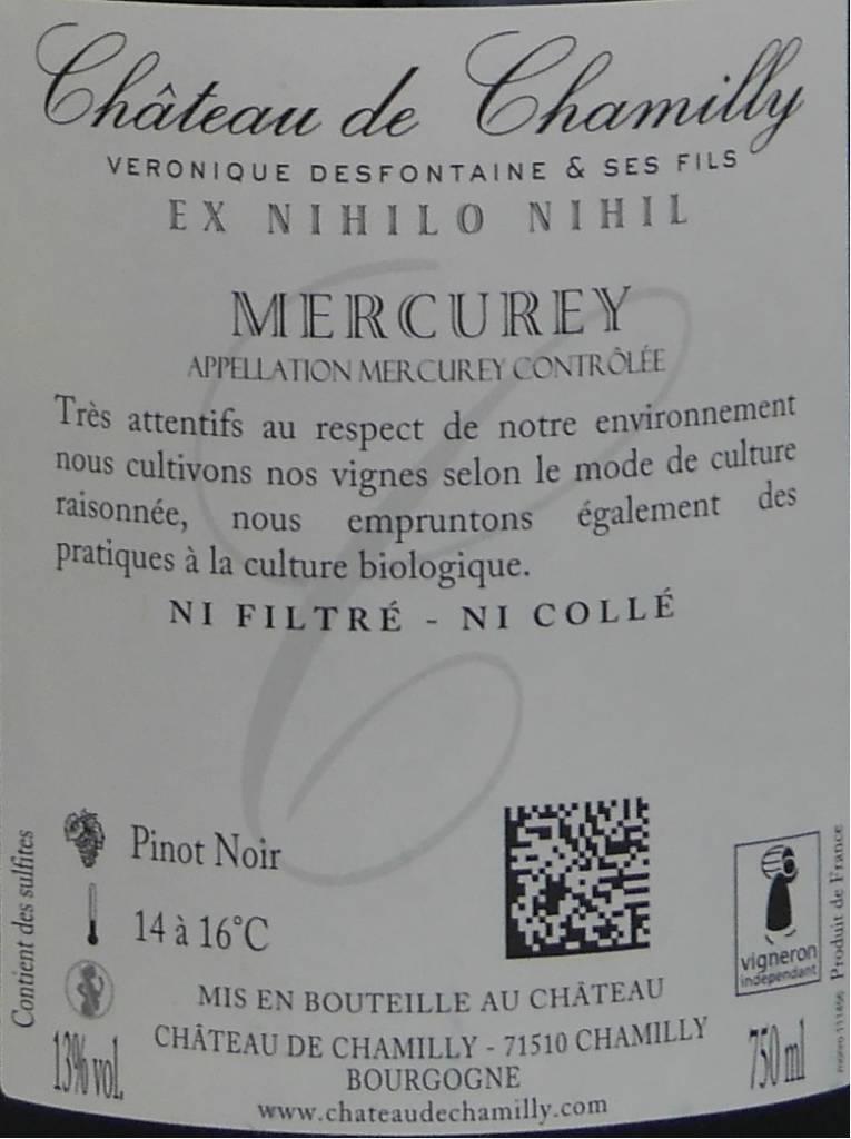 """Château de Chamilly - Mercurey """"les Monthelons""""-4"""