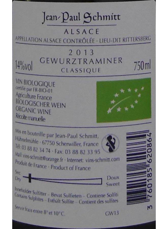 Domaine Jean-Paul Schmitt - Gewurztraminer Rittersberg Classique