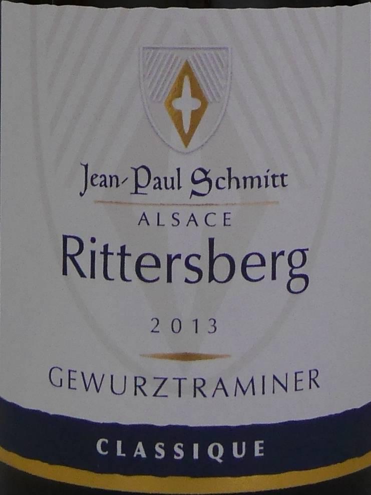 Domaine Jean-Paul Schmitt - Gewurztraminer Rittersberg Classique-3