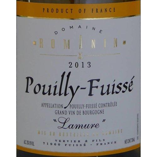 """Domaine Romanin - Pouilly-Fuissé """"Lamure"""" - 2013"""