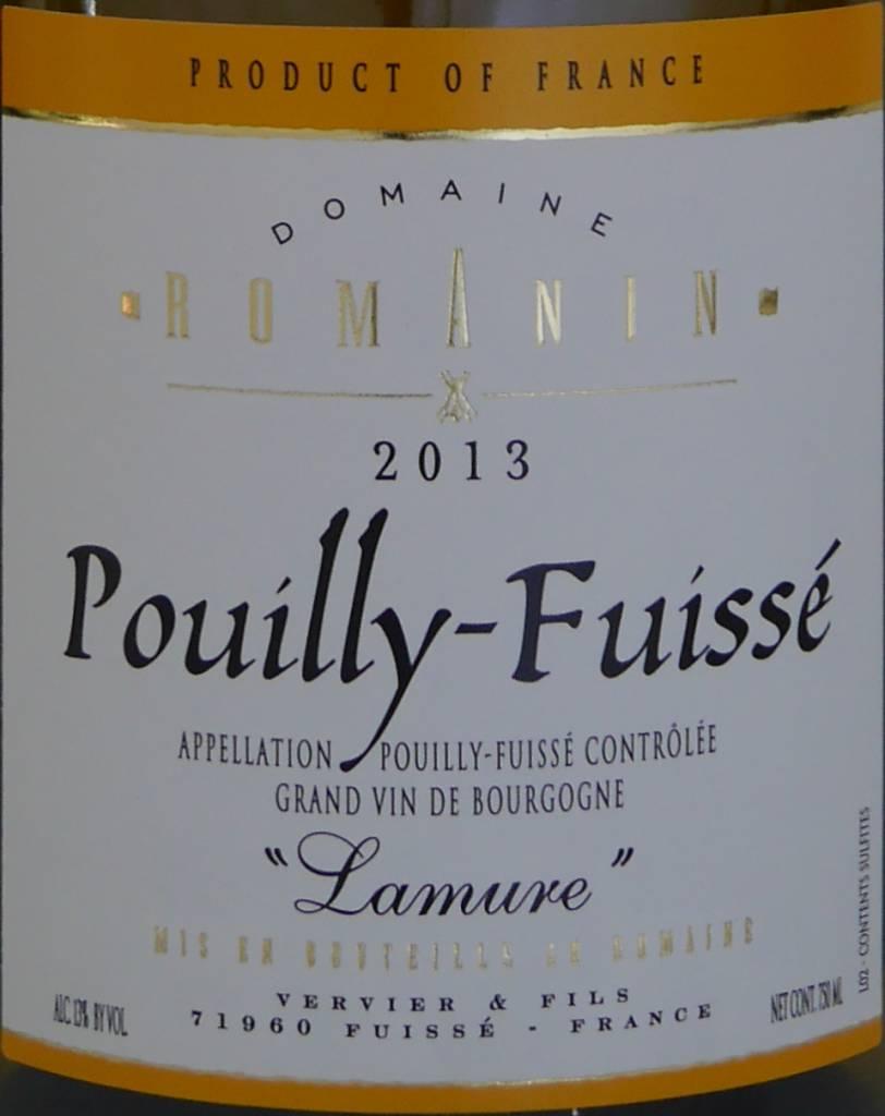 """Domaine Romanin - Pouilly-Fuissé """"Lamure""""-3"""