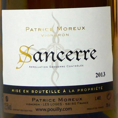 Patrice Moreux - Sancerre - 2015
