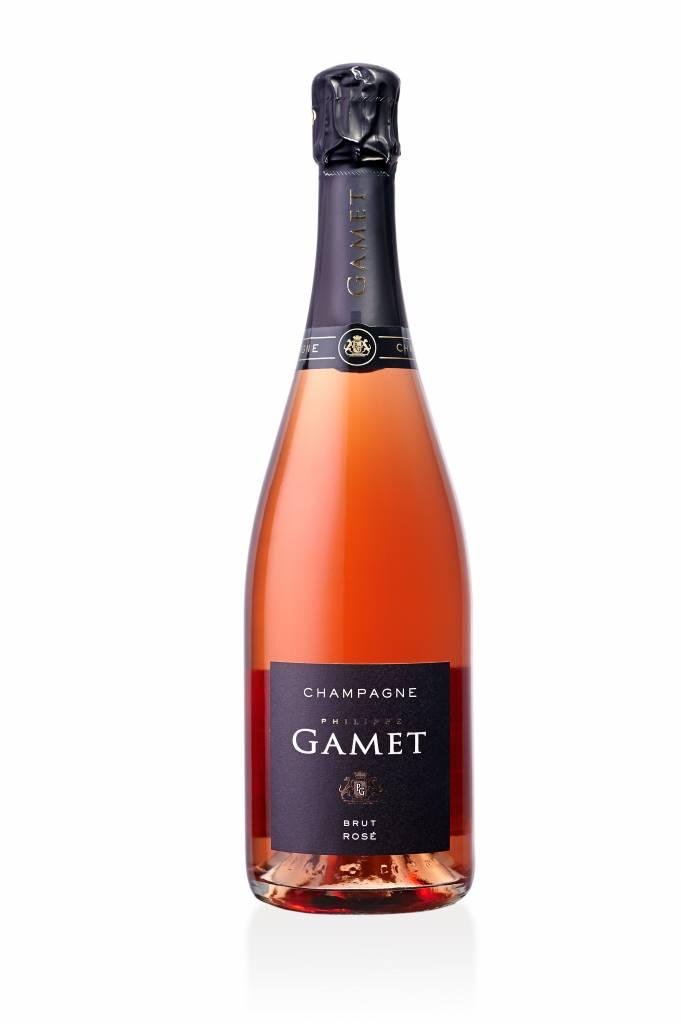 Champagne - Maison Gamet - Brut Rosé-1